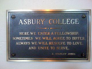 Asbury College June, 2009